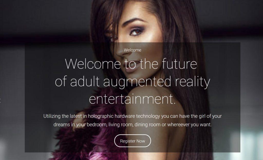 3D hologirlfriend the future of ar xxx