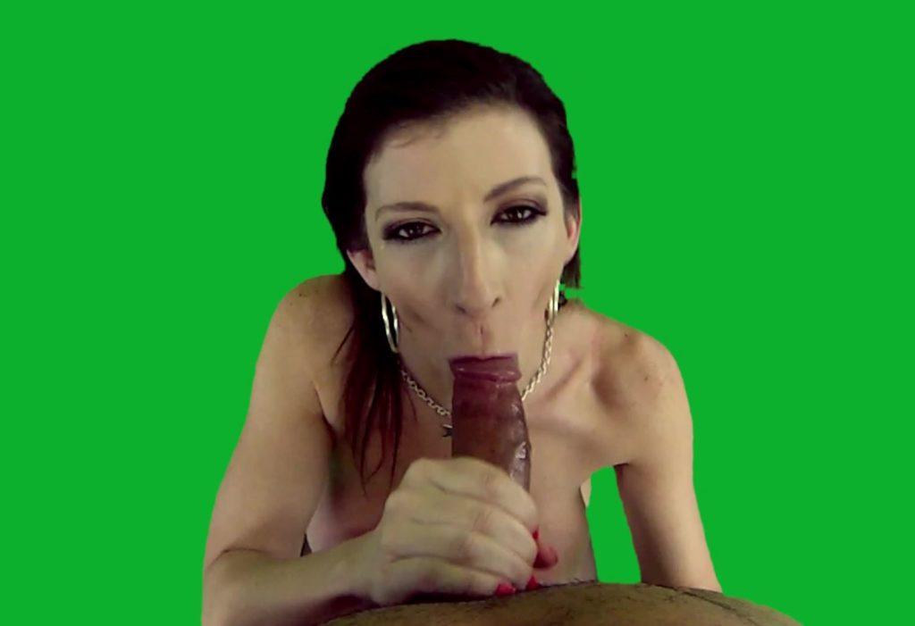 MyARGirls - Sara Jay sucking dick in AR