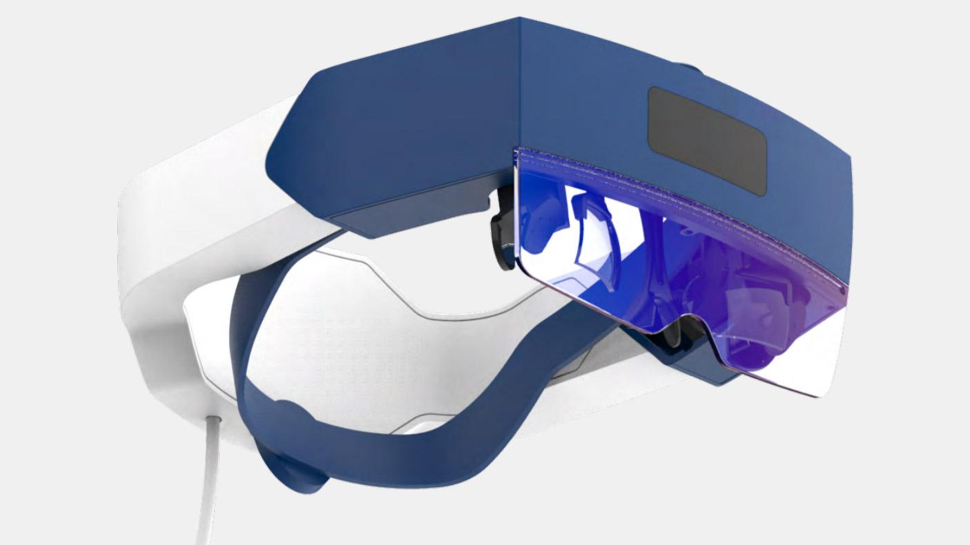 Creal AR Light Field Headset 2021